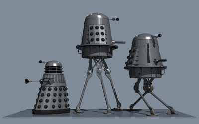 Marsh Dalek beauty shot