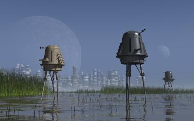 Marsh Daleks