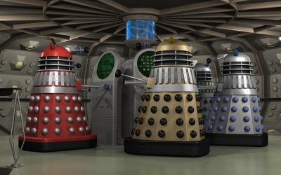 Dalek time capsule