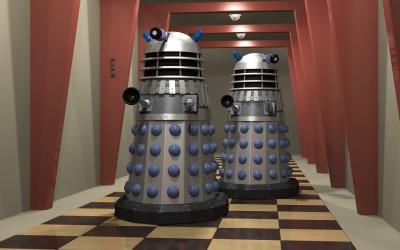 March of the Hybrid Daleks