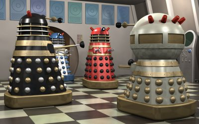 1965 movie Daleks with Emperor