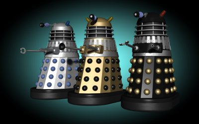 Invasion movie Daleks