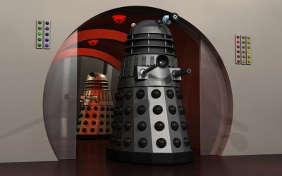 City Daleks #1