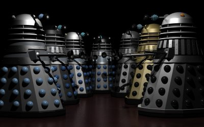 Dalek group pose
