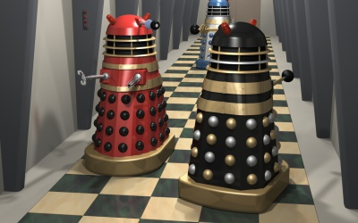 More movie Daleks