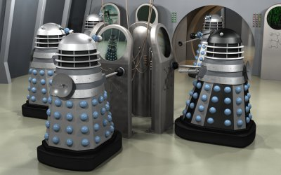 Ops room Invasion Daleks #2