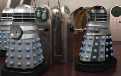 Ops room Invasion Daleks #1