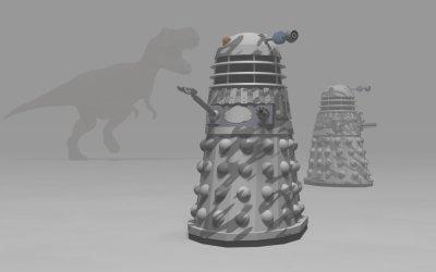 Snow patrol Daleks