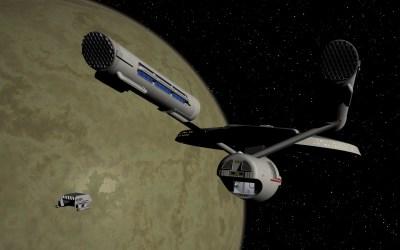 Shuttle docking with USS Dirac #1