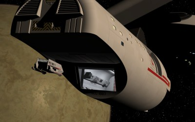 Shuttle docking with USS Dirac #2