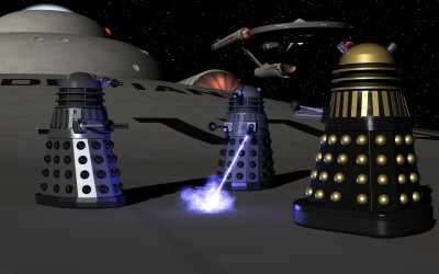 Daleks on the hull #1