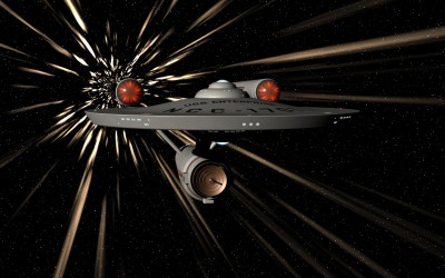 Enterprise at warp speed