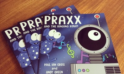 Praxx and the Ringing Robot is a Purple Dragonfly Book Award Winner
