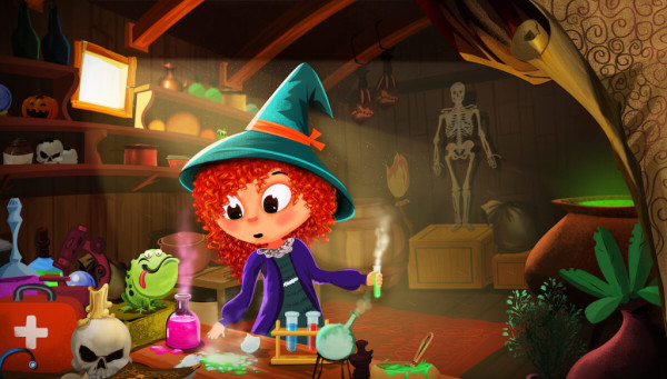 Rowena the Witch Doctor