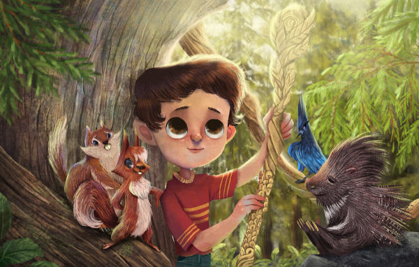 Carter and the Cedar Forest Critters