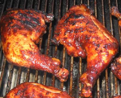 BBQ Chicken Leg Quarters