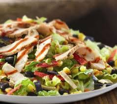 BBQ Chicken Breast Salad