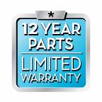 12 Year Parts Warranty