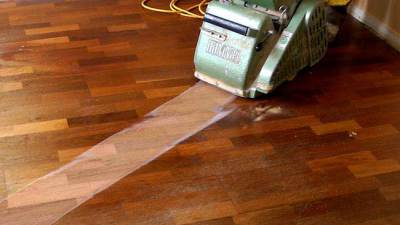 Refinishing the Floors