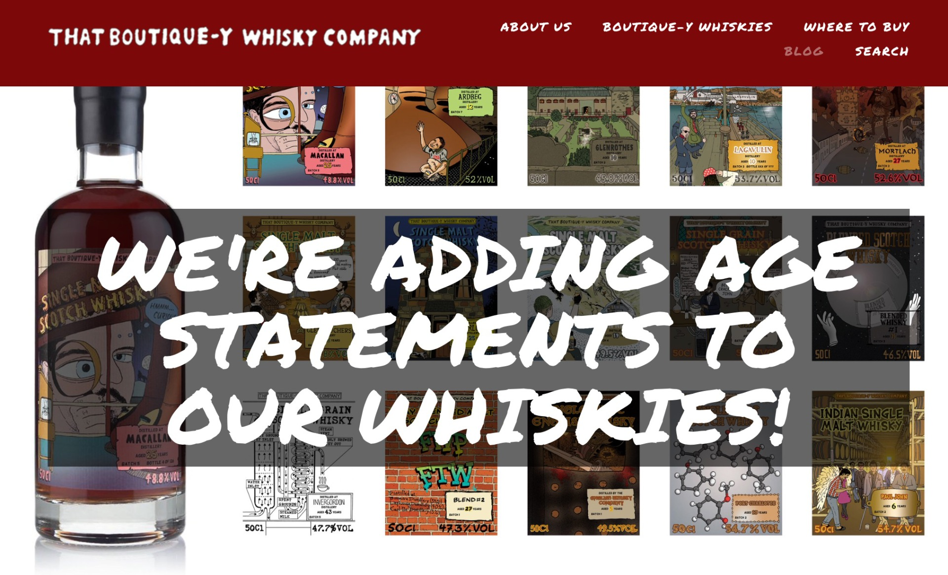 That Boutique-y whisky company NAS stance