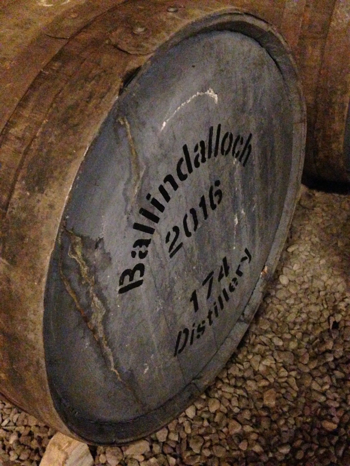 Ballindalloch Distillery Tour 29th April 2016
