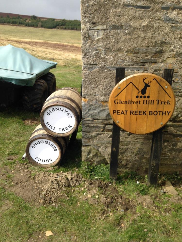Glenlivet Hill Treks  - Peat Reek & Pot Still Tour