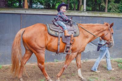 A Cowboy's First Ride