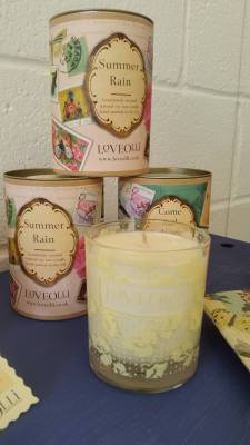 Candles in a tin £19.95