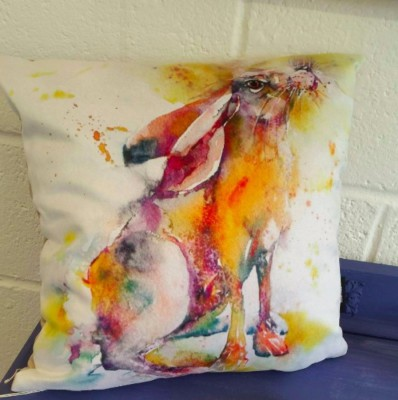 Hare Cushion £24.95