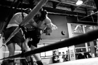 Pacific Muay Thai Instructor Eric Knees