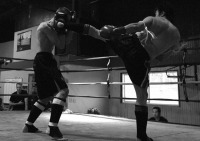 Pacific Muay Thai Instructor Kim Head Kick