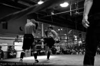 Pacific Muay Thai Instructor Kim Leg Kick