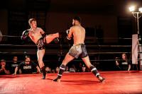 Pacifc Muay Thai Student Kicking