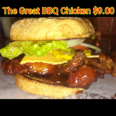 Chef's Special TheGreat BBQ Fried Chicken Sammich
