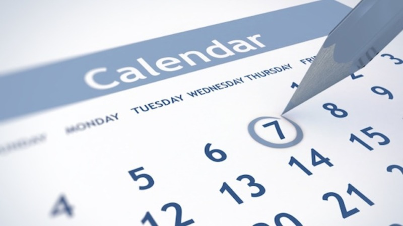 New Calendar to mark Clan Events
