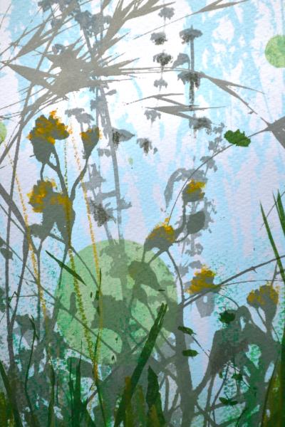 Morning Meadow - Green
