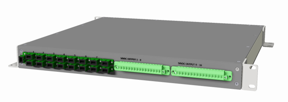 16 PORT GPON POWER DISTRIBUTION UNIT