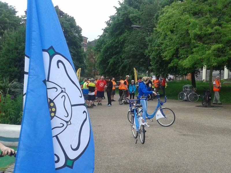Cycling and Fracking/Climate Campaigning, a busy Saturday