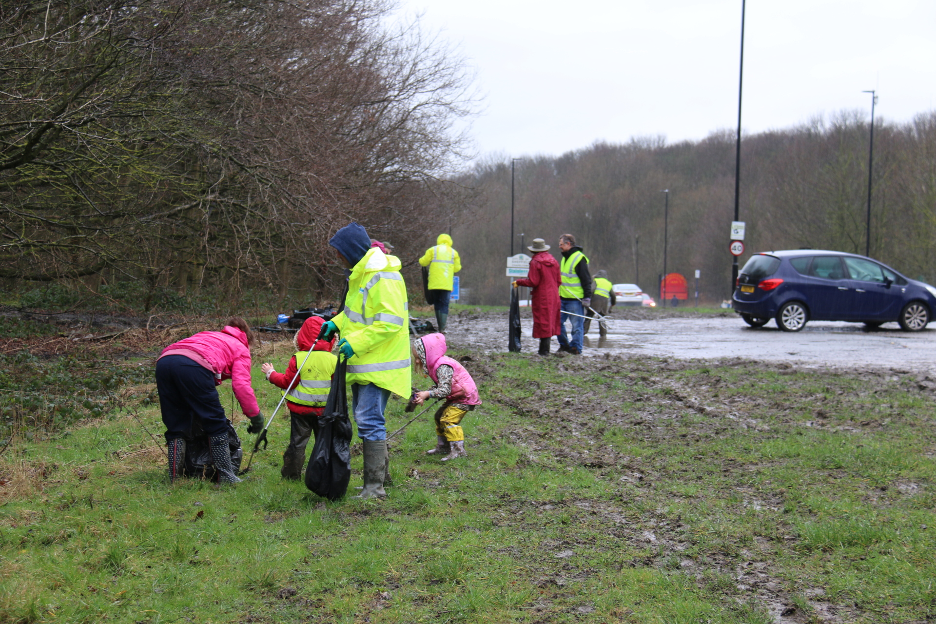 Community Action, Litter Picking Activism in March
