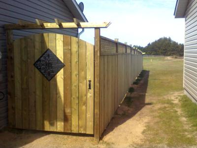 Property fence