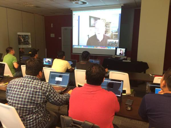 Salman Khan Ghauri at a 2-Day remote training workshop on Compositing for VFX and Games by Steve Wright the Nuke Guru himself. Steve was live from Denver, Colorado via Skype for this 2-Day workshop.