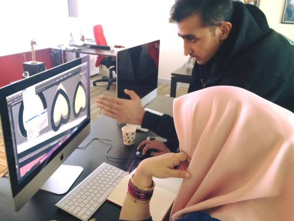 Salman Khan Ghauri at a 6-Week hands on training workshop on Visual Communications, Graphics Design, Video Editing, Visual Effects (VFX), Motion Graphics and 2D Animation using the Adobe Creative Cloud for the International Islamic College (IIC), Kuala Lumpur lecturers.