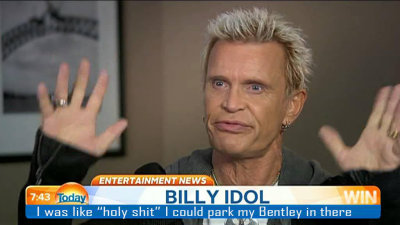 Billy Idol Delivers Baby on His Motorcycle!