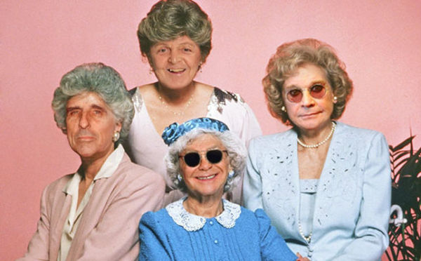 New Golden Girls Unveiled, Starring Ozzy, Elton, Alice & Sir Paul!
