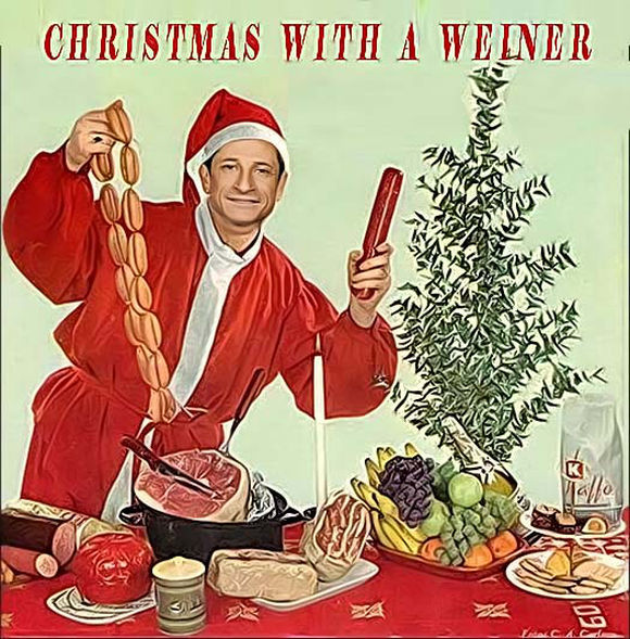 Anthony Weiner Releases Christmas Album!