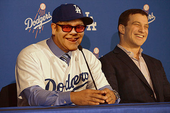 Elton John Named as New Manager of L.A. Dodgers!