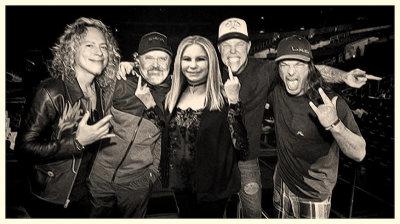 Gaga Out! Barbara Streisand Joins Metallica!