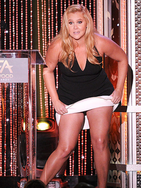 Amy Schumer Stricken by Explosive Diarrhea on Live T.V. !
