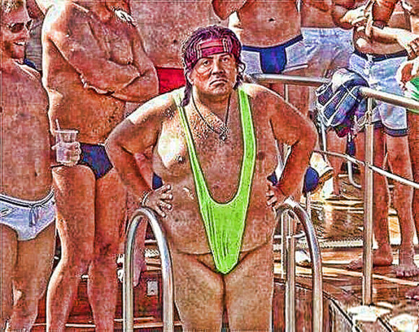 Stallone Works as Part-Time Lifeguard!