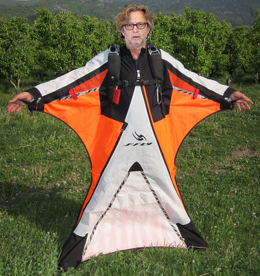 Eric Clapton Breaks World Record For Fastest Wingsuit Speed!